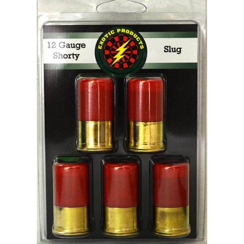 "Exotic Shorty 12 Gauge Mini Ammunition 5 Rounds 1.75"" Deer Slug 1 Ounce 00506"