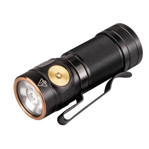 Fenix E18R Tactical EDC Flashlight Compact 750 Lumen Rechargeable 16340 or CR123A Battery Aluminum Black