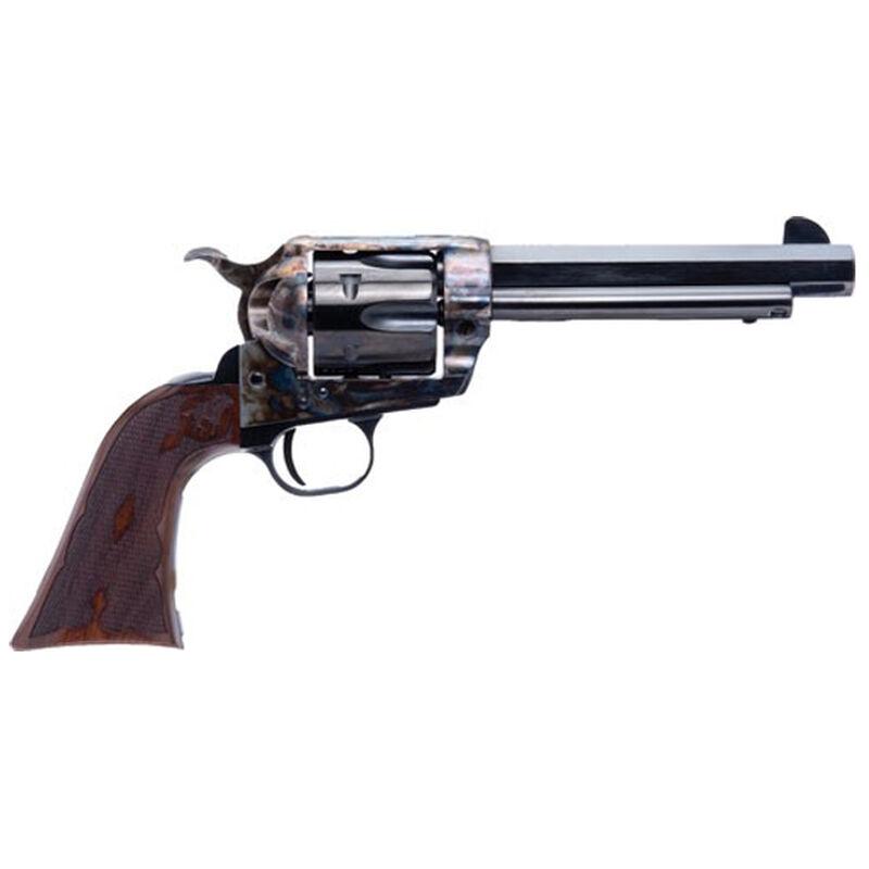 """Cimarron El Malo 2 .357 Mag/.38 Special Single Action Revolver 5.5"""" Barrel 6 Rounds Pre-War Frame Design Fixed Sights Case Color Hardened Blued Finish"""