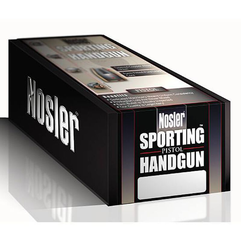"Nolser 10mm Caliber .400"" Diameter 200 Grain Jacketed Hollow Point Sporting Hangun Bullets 250 Count 44952"