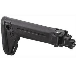 Magpul Zhukov-S Side Folding 5 Position Adjustable Stock AK-47/AK-74 Pattern Polymer Black MAG585