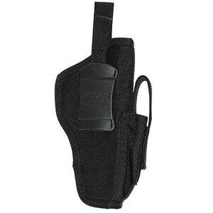 BLACKHAWK! Belt Holster Large Frame Autos Ambidextrous Nylon Black 40AM05BK