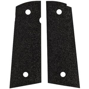 ERGO Grip XTR Grips 1911 Full Size Square Bottom Textured Rubber Black 4510-BK