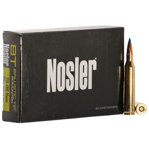 Nosler Ballistic Tip 25-06 Rem Ammunition 115 Grain Ballistic Tip Spitzer Boat Tail 2900 FPS
