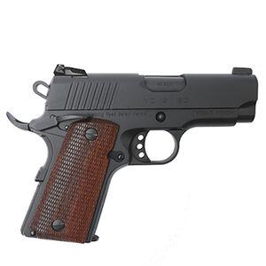 "EAA GiRSAN MC1911SC Officer Model .45 ACP Semi Auto Pistol 3.4"" Barrel 6 Rounds Adjustable Rear Sight Ambidextrous Safety Black Finish"