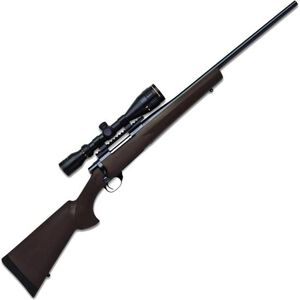"""Legacy Sports International Howa GameKing Package Bolt Action Rifle .223 Rem 22"""" Barrel 4 Rounds Hogue Synthetic Stock Nikko Stirling 3.5-10x44 LRX AO Scope Black HGK60207"""
