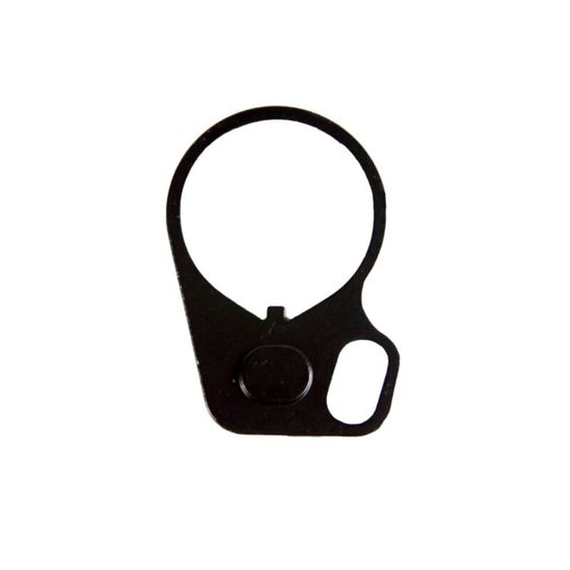 JE Machine Single Loop End Plate Oval Sling Mount Adapter Ring-Right handed