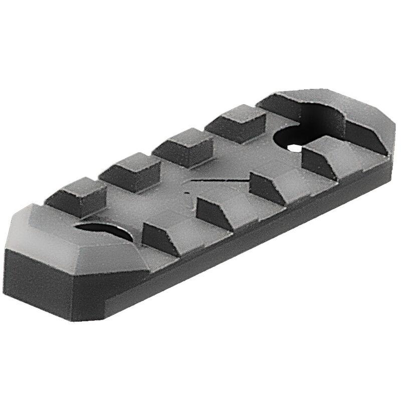 AIM Sports AR-15 5 Slot Picatinny M-LOK Rail Section Aluminum Black