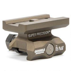 Geissele Super Precision Aimpoint T-1 Optic Mount Lower 1/3 Co-Witness Aluminum Desert Dirt 05-469S