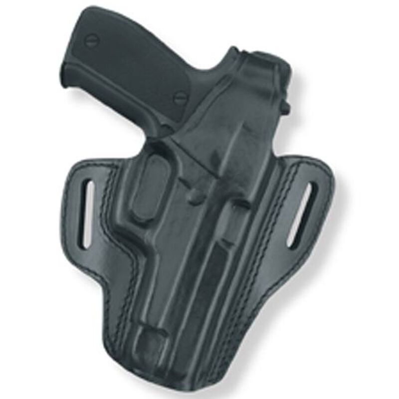 Gould & Goodrich Gold Line GLOCK 19, 23, 32 Two Slot Pancake Holster Right Hand Leather Black B802-G19