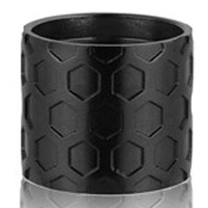 Backup Tactical AR-15 1/2x28 Thread Protector Honeycomb Aluminum Black