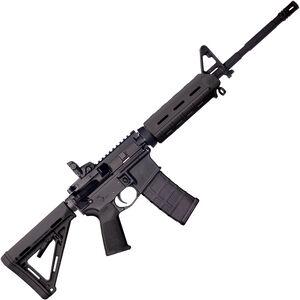 "Bushmaster XM-15 MOE M4-Type Carbine 5.56 NATO AR-15 Semi Auto Rifle 16"" Barrel 30 Rounds Black Magpul Moe Furniture Collapsible Stock Black Finish"