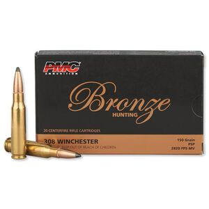 PMC .308 Winchester Ammunition 20 Rounds PSP 150 Grains 308SP