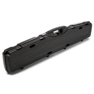 "Plano Pro-Max Single Scoped Rifle Case 52"" Length PillarLock Crush Resistant Heavy Duty Latches Molded In Handle Thick Walled Construction Polymer Matte Black 153101"