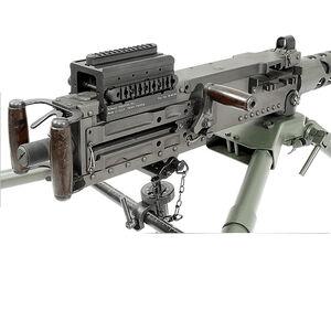 Midwest Industries Browning M2/M3 Rear Optic Mount Aluminum Black MI-M2SM