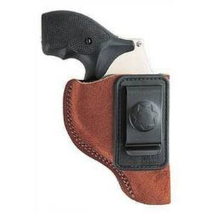 Bianchi #6 Waistband Holster .32 & .380 Autos Size 7 Right Hand Suede Rust