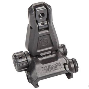 Magpul MBUS Pro AR-15 Backup Rear Sight Steel Black MAG276