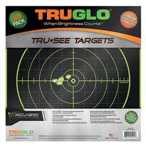 "TRUGLO Tru-See Splatter 100 Yard Targets 12""x12"" 50 Pack TG10A50"