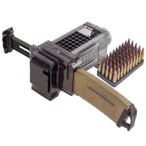 Caldwell Shooting Supplies AR-15 MAG Charger .223 Remington/5.56 NATO Polycarbonate Clear 397488