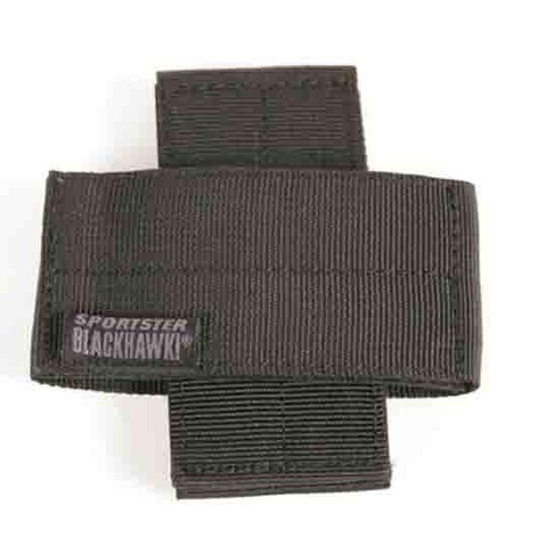 BLACKHAWK! Sportster Weapon Retainer Black Nylon Set of Two 74WR00BK