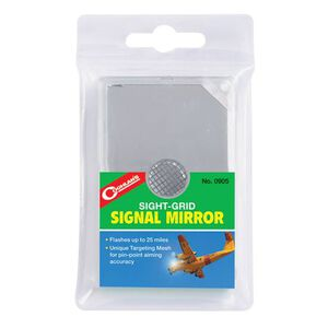 Coghlans Sight-Grid Signal Mirror 0905