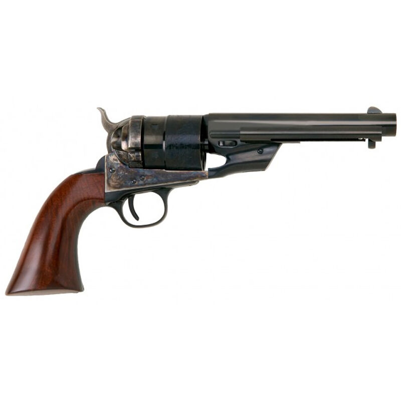 "Cimarron 1860 Richards Type II Transition Model Revolver 38 Special 5.5"" Barrel 6 Rounds Wood Grips Blued"