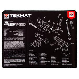 TekMat Sig Sauer P320 Ultra Premium Gun Cleaning Mat Neoprene
