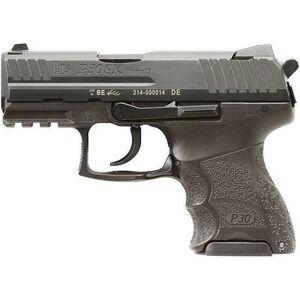 """H&K P30SK V3 Semi Auto Handgun .9mm Luger 3.27"""" Barrel 10 Rounds Polymer Frame Blued Finish 730903K-A5"""