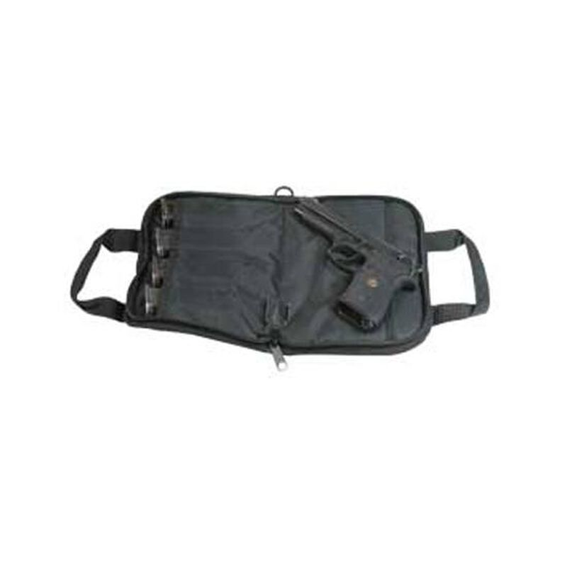 "Outdoor Connection Tactical 14"" Soft Pistol Case with Mag Pocket Black"