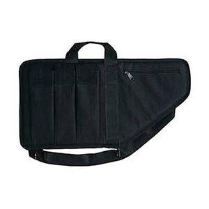 "Bulldog Extreme Tactical Rifle Soft Case 25"" with Pockets Nylon Black BD423"