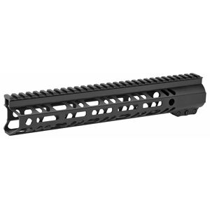 "2A Armament Builder Series AR-15 12"" Free Float Hand Guard Picatinny/M-LOK Aluminum Construction Hard Coat Anodized Matte Black Finish"