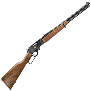 """Marlin 336TDL Texan Deluxe Lever Action Rifle .30-30 Winchester 20"""" Barrel 6 Rounds Adjustable Rear Sight/Ramp Front Sight B Grade Walnut Stock Blued Finish"""