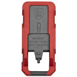 Real Avid Smart Mag Glock Magazine Disassembly Tool Red Polymer AVGLOCKMT