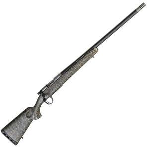 "Christensen Arms Ridgeline .300 WSM Bolt Action Rifle 24"" Threaded Barrel 3 Rounds Carbon Fiber Composite Sporter Green/Black/Tan Stock Carbon Fiber/SS"