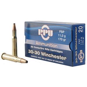 Prvi Partizan .30-30 Winchester Ammunition 20 Rounds FSP 170 Grains PP30302