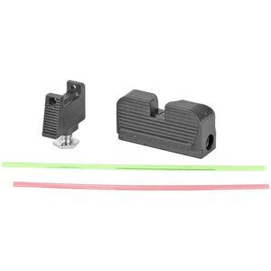 Taran Tactical Innovations Ultimate Fiber Optic Sights RMR Cut Co-Witness Height Glock