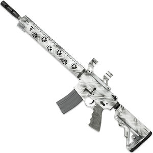 "Rock River LAR-15 Fred Eichler Series Predator2 5.56 NATO AR15 Semi Auto Rifle 16"" Fluted Barrel .223 Wylde Chamber 30 Rounds with Scope Mount Free Float Handguard Collapsible Stock Ghost Camo Finish"