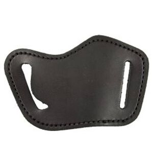 DeSantis Simple Slide Medium/Large Frame Autos/Revolvers Belt Holster Right Hand Leather Black 119BAG2Z0