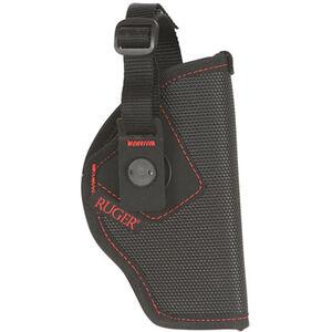 Allen Ruger Firebird MQR Holster SR9/SR40/SR45/American Pistol, American 45c, SR1911 Belt Slide Right Hand Nylon Black