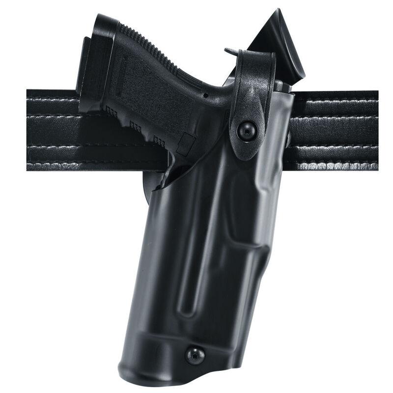 Safariland Model 6360 S&W M&P 9/40 ALS/SLS Mid Ride Level III Retention Duty Holster Right Hand STX Plain Black 6360-219-411