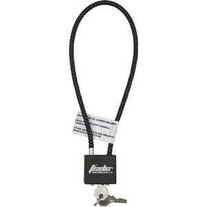"""Firearm Safety Device Company Keyed 15"""" Gun Cable Lock Blk"""