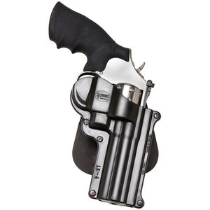 Fobus Holster S&W K/L Frame Revolvers/Taurus 65,66 Right Hand Roto-Paddle Attachment Polymer Black