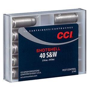 CCI Shotshell .40 S&W Ammunition 10 Rounds #9 Shot