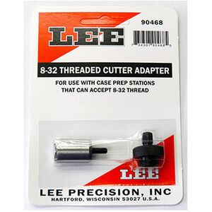 Lee Precision 8-32 Threaded Cutter Adapter and Lock Stud 90468