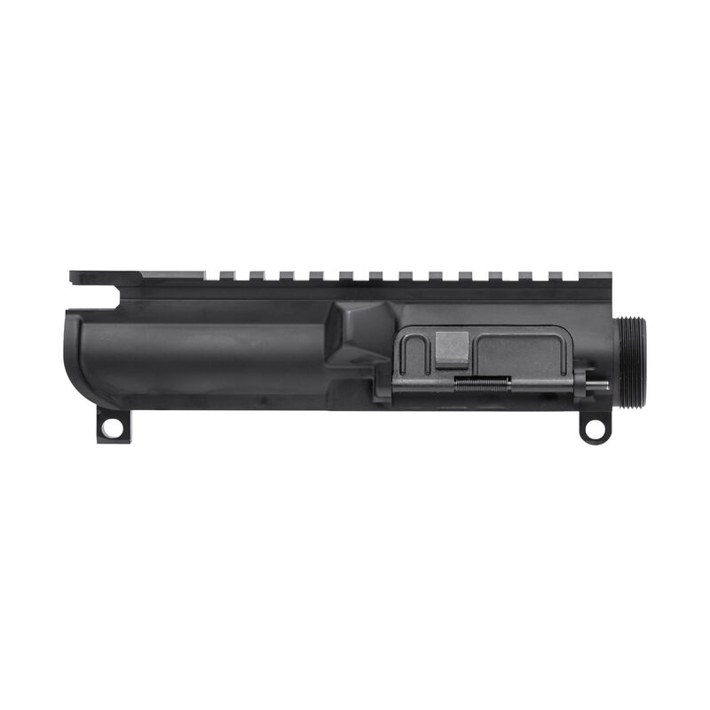 Spikes Tactical 9mm Luger AR-15 Complete Upper Receiver Forged 7075-T6 Aluminum Construction Hard Coat Anodized Matte Black Finish