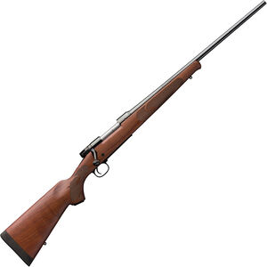 "Winchester Model 70 Featherweight 6.5 Creedmoor Bolt Action Rifle 22"" Barrel 4 Rounds Adjustable Trigger Walnut Stock Blued Finish"