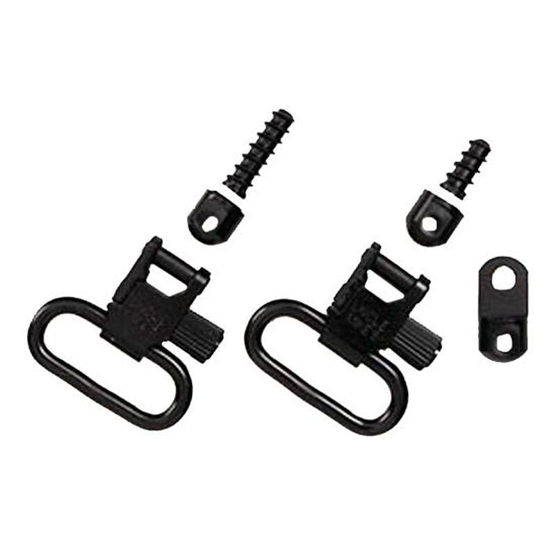 """Uncle Mike's Ruger Auto/Single Shot Carbine Swivels 1"""" Steel Black"""