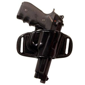 Tagua BH2 Quick Draw Belt Holster For GLOCK 17/22/31 Right Hand Leather Black BH2-300