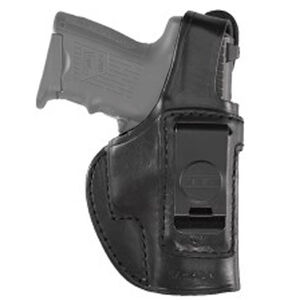 Aker Leather 160 Spring Special Executive SIG Sauer P229 IWB Holster Right Hand Leather Plain Black