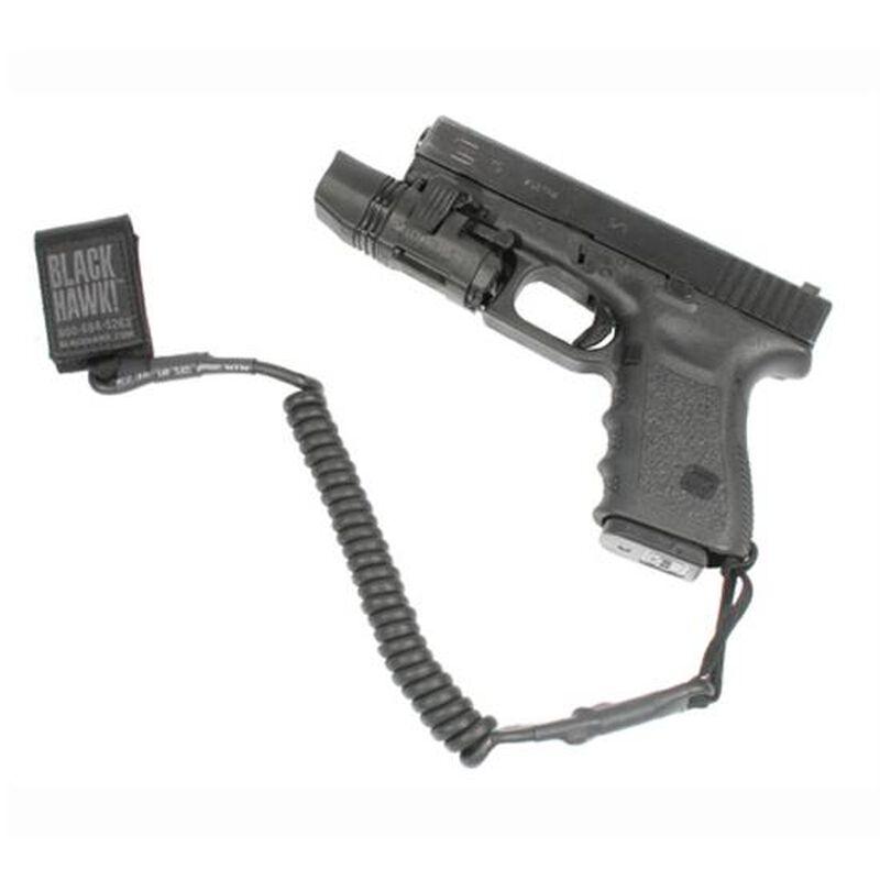 BLACKHAWK! Tactical Pistol Lanyard Coiled 90TPL1BK